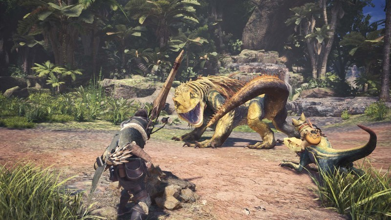 Monster Hunter World - Capture