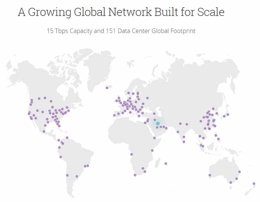 Cloudflare-map